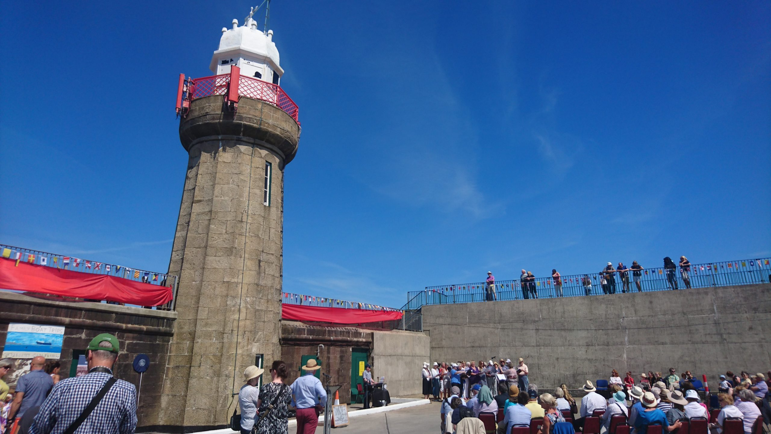 200 years of the harbour in Dunmore East were celebrated at the seaside village yesterday.