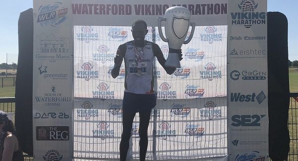 Dublin runner is first over the line in the WLR Viking Half Marathon