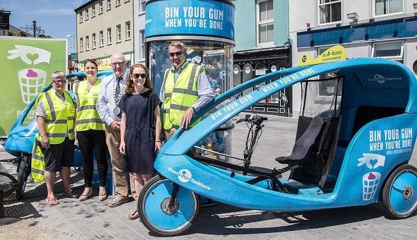 Waterford Mayor encourages people to 'bin their gum'