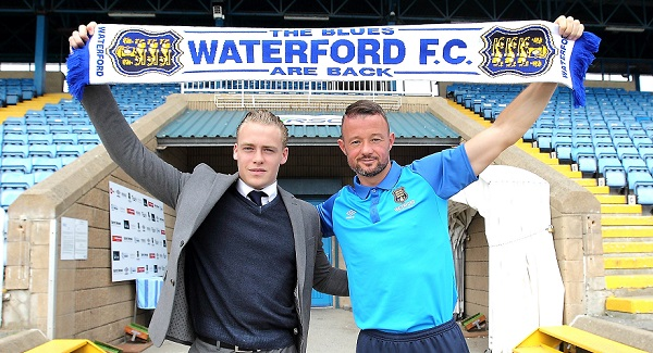 Noel Hunt officially unveiled as new Waterford FC player and assistant manager
