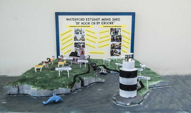 Waterford Estuary Men's Shed appeals for votes in National Competition