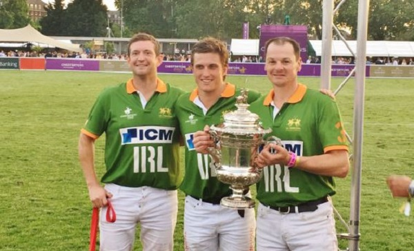 Waterford duo Sebastian Dawnay and Richard Le Poer help Irish Polo team to victory over England