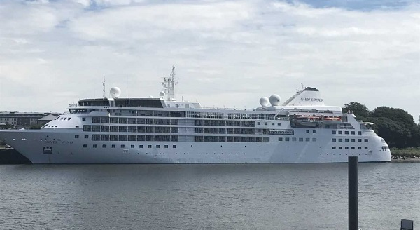 Cruise liner arrives in Waterford City