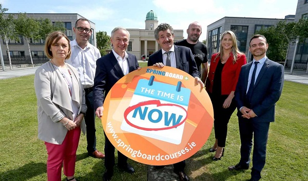Over 250 Springboard+ places allocated to Waterford IT