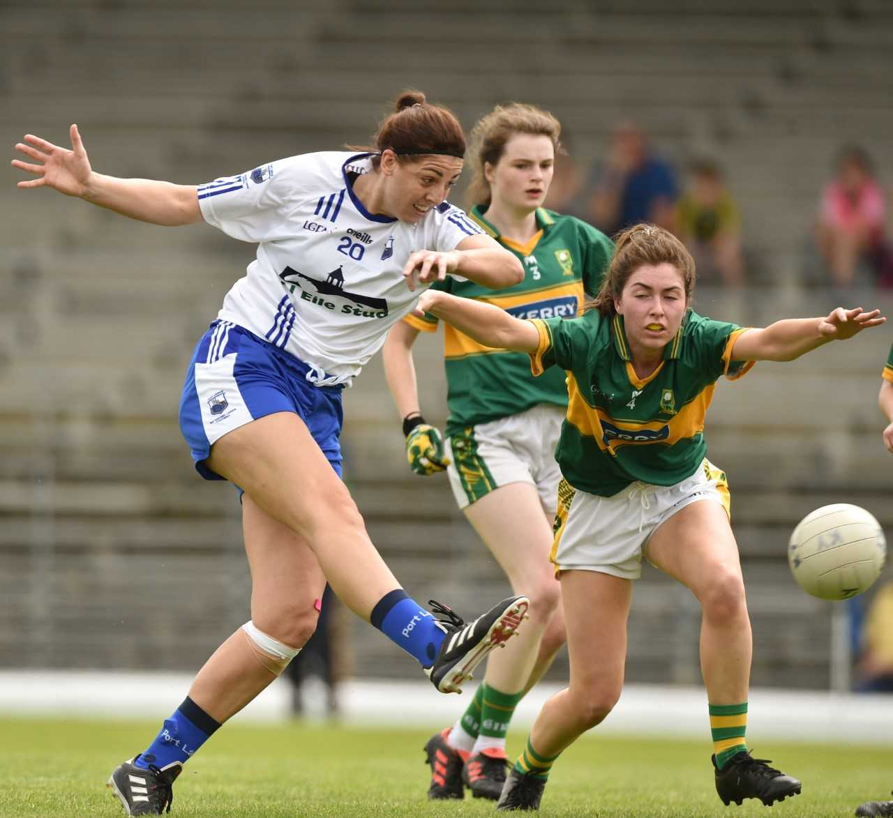 Waterford ladies lose out to Kerry 1-6 to 2-16 in Munster semi-final in Killarney