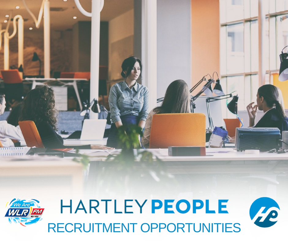 Recruitment opportunities available through Hartley People