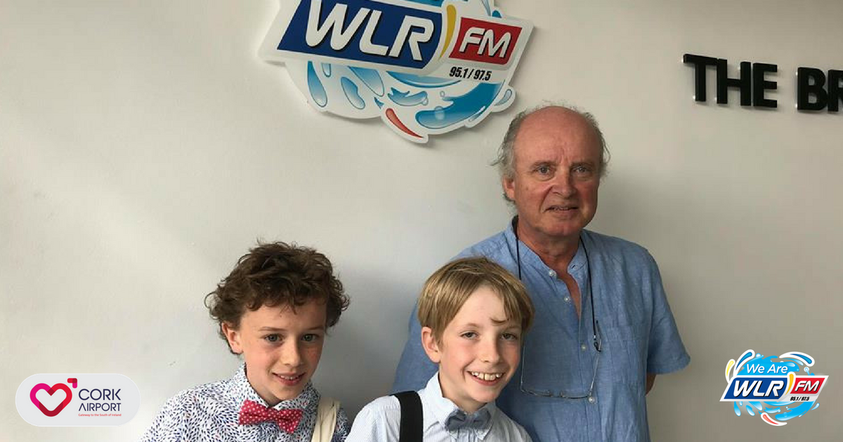 Listen back: Geoff caught up with two budding entrepreneurs Ned and Oisin!