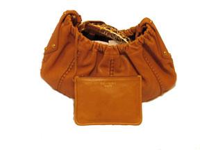 Lost: a tan handbag