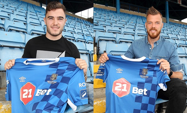 Blues sign Renars Rode and Cory Galvin