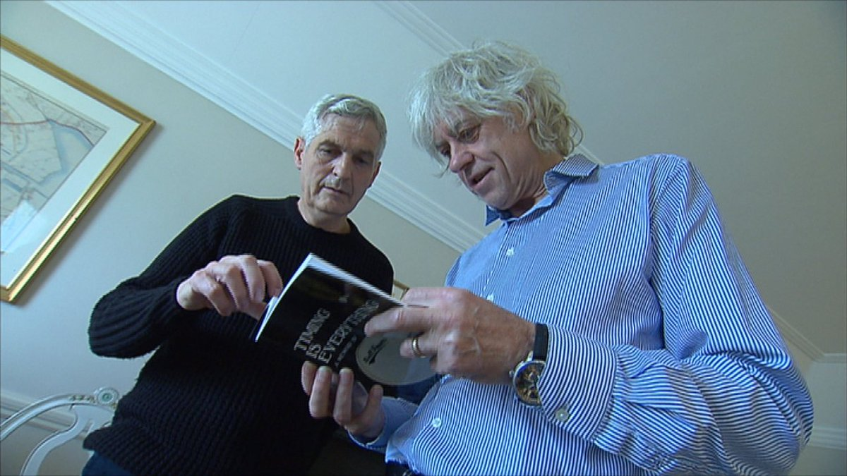 Listen Back: Top Irish Drummer who played for Bob Geldof has released a book documenting his battles with Parkinson's Disease