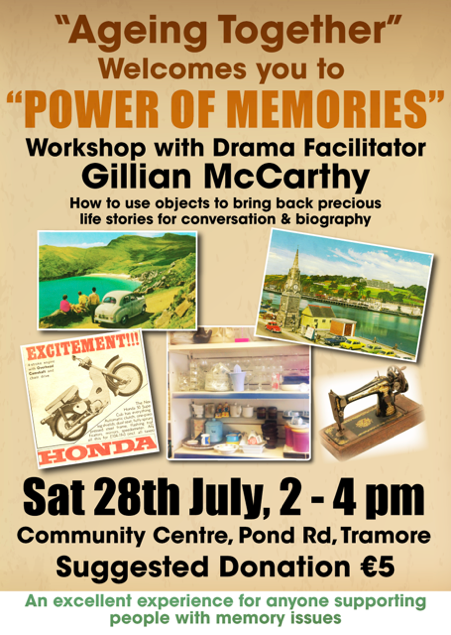 """Listen back: """"The Power of Memories"""" takes place in Tramore this Saturday afternoon"""