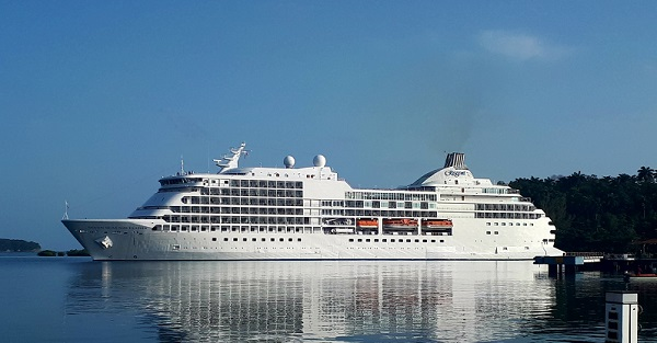 Cruise liner arrives in Waterford