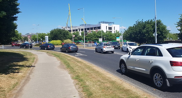 Traffic 'chaos' on the Dunmore Road down to rapid development in the area