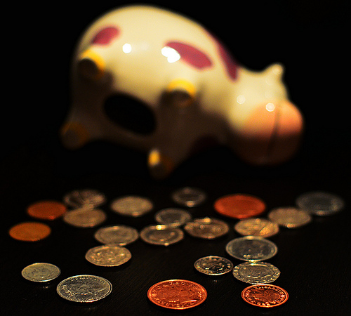 Found: Sum of money