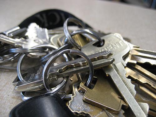Lost: Set of keys