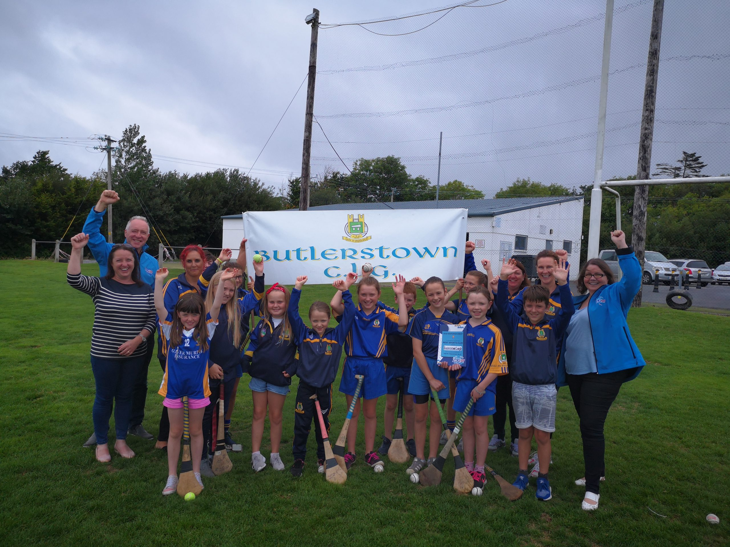 """Butlerstown GAA and Camogie Club win """"Best Sports Club""""."""