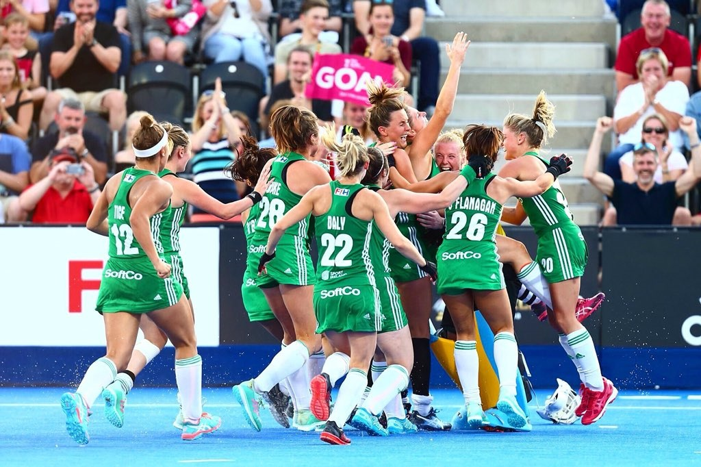 Drama in London as Ireland qualify for first ever Hockey World Cup Final