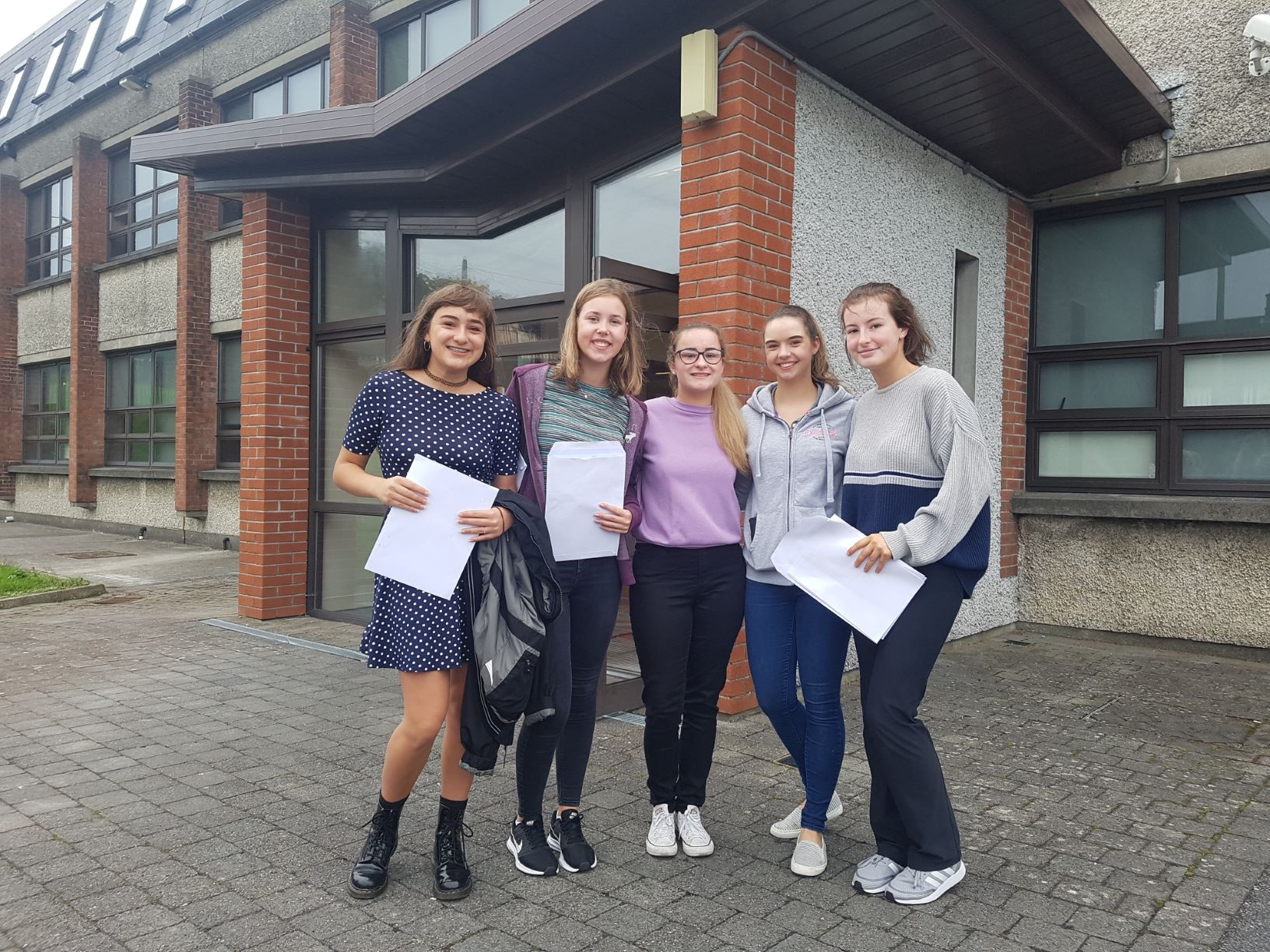 1500 students are getting their Leaving Cert results today.