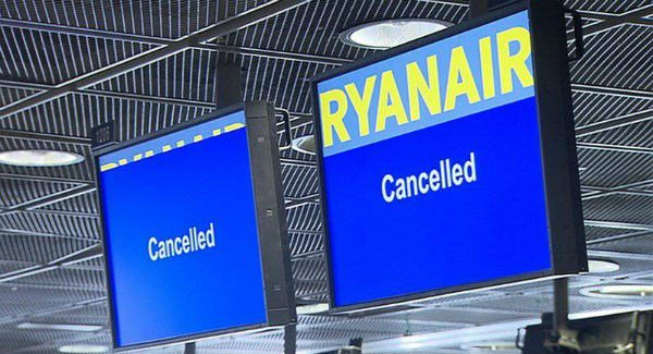 Passengers affected by Ryanair strike reminded to 'keep receipts' for possible expense refunds
