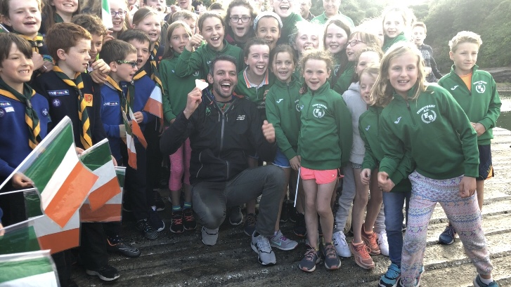 Wonderful welcome home to Dunmore East for Waterford's Thomas Barr