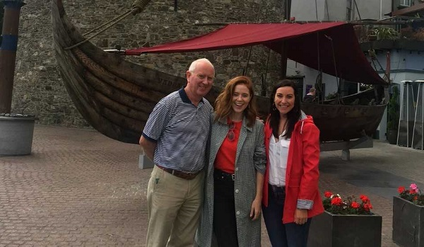 Angela Scanlon lends a hand to promote holidays in Waterford this autumn