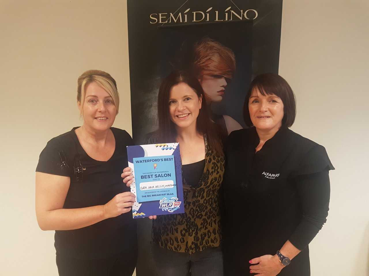 O &A Hair Design in Cappoquin is voted Waterford's best salon by Big Breakfast Blaa listeners!