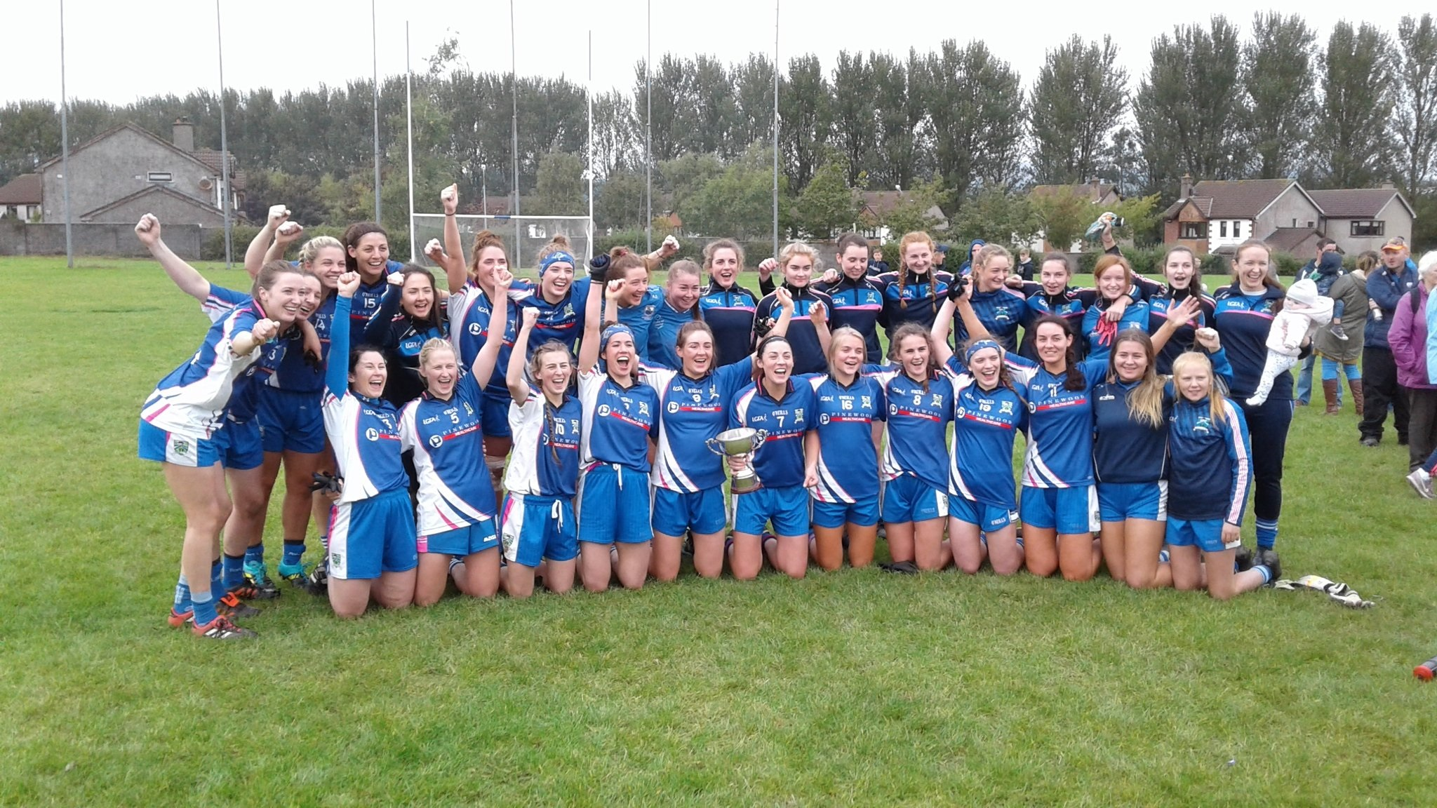37 in a row for the Ballymacarbry Ladies footballers!
