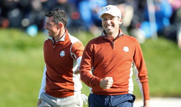 Advantage Europe heading into tomorrow's Singles at the Ryder Cup