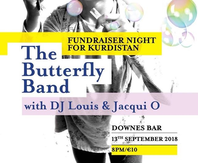 Listen back: Downes' pub is hosting a fundraiser for Local humanitarian worker Aoife Hanrahan who's heading to Kurdistan