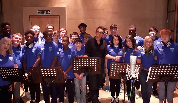 Waterford school sings with Royal Wedding Choir