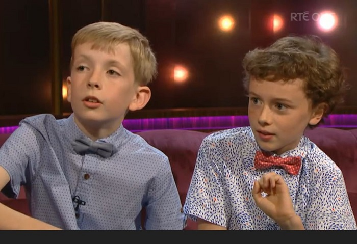 TV debut for 11 yr old comic creators from Dunmore East