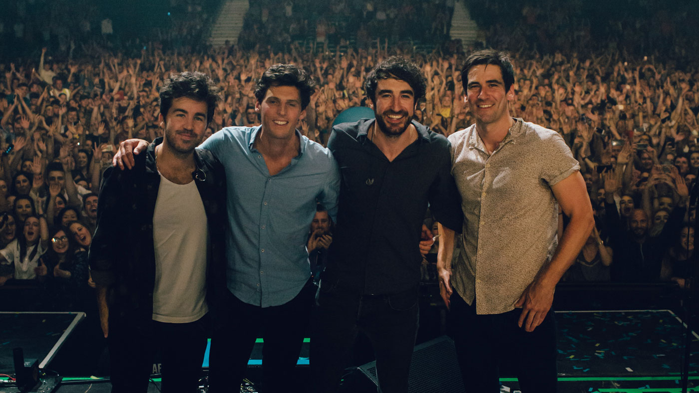 The Coronas announce two Christmas gigs for the Olympia