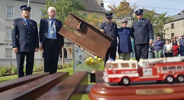 9/11 memorial unveiled in Waterford City
