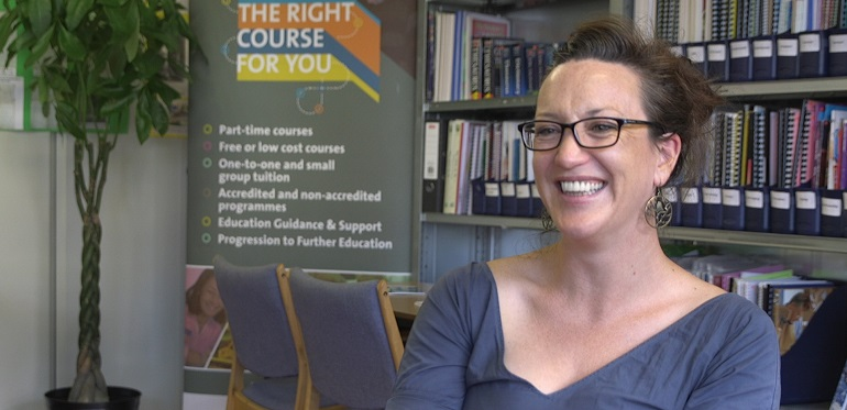 """""""CONFIDENCE IS THE BIGGEST THING""""- TUTOR TALKS RETURNING TO EDUCATION"""