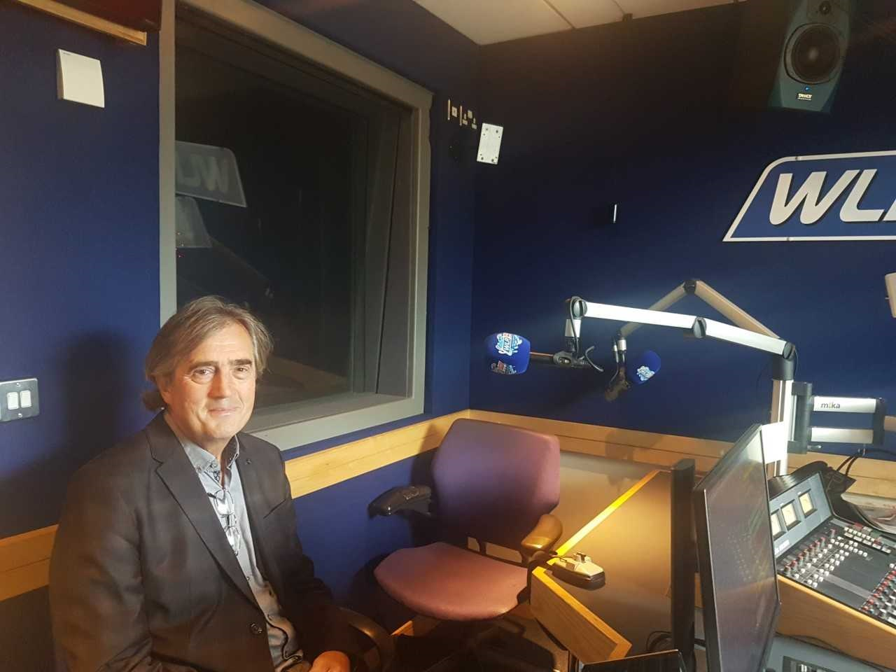 Listen back: Award winning author and Laureate for Irish Fiction Sebastian Barry joined Mary in studio