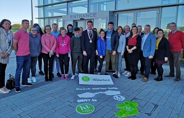 Campaign to help young people stop smoking launches in Waterford