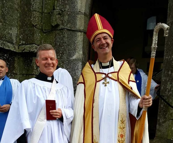 Former Green Party leader Trevor Sargent ordained a priest in Waterford