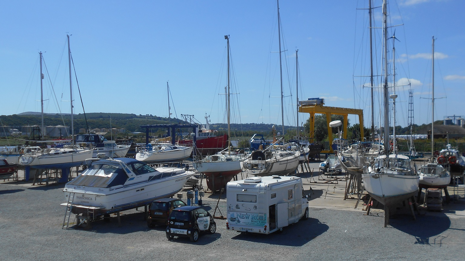 A Yard Manager is sought for New Ross Boatyard