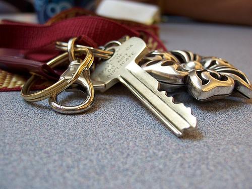 Found: an Opel car key