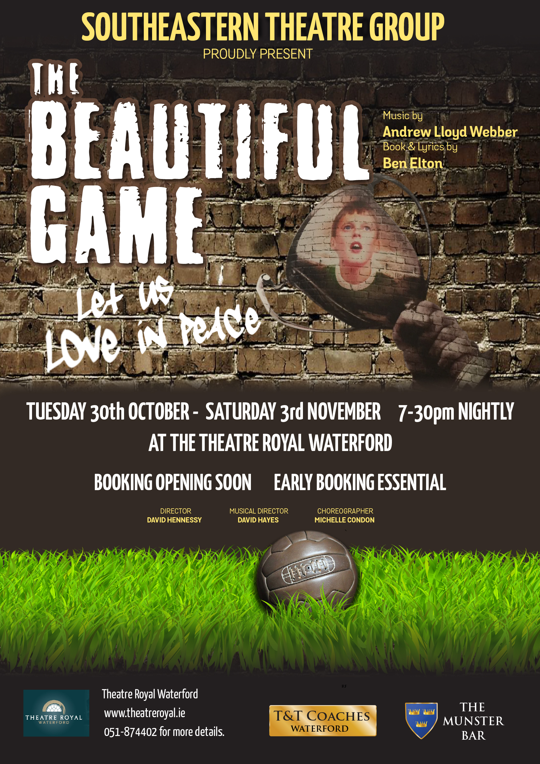 The Beautiful Game at The Theatre Royal