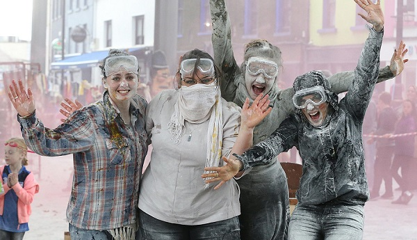 Ireland's Biggest Flour Fight to take place in Waterford