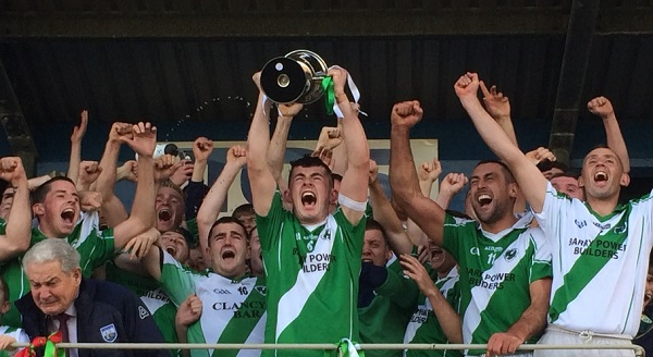 CLONEA CROWNED COUNTY INTERMEDIATE HURLING CHAMPIONS