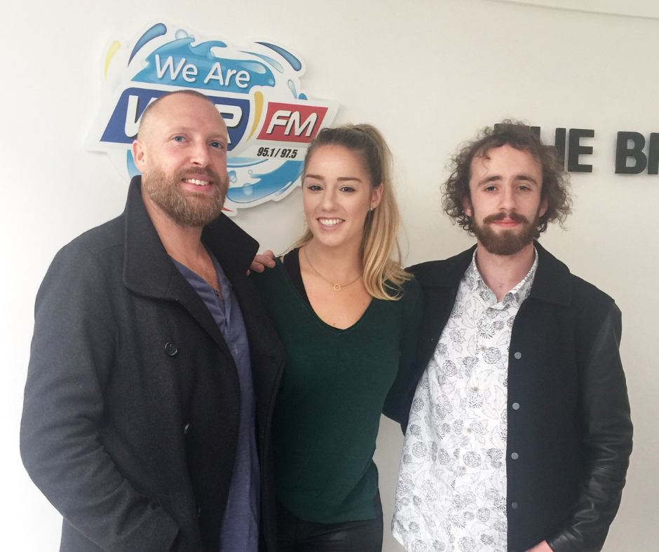Brian Deady performs on The Drive Home Live Sessions