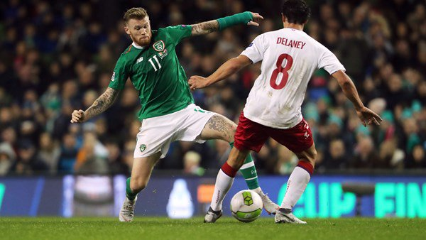 'Sometimes he's not right in the head, but he's brilliant for us' - O'Neill praises James McClean