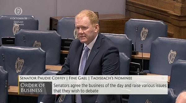Senator raises plight of County Waterford GP practice