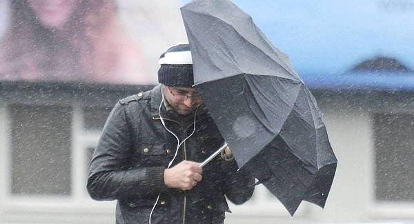 Yellow weather warning as potential Storm Callum on the way.