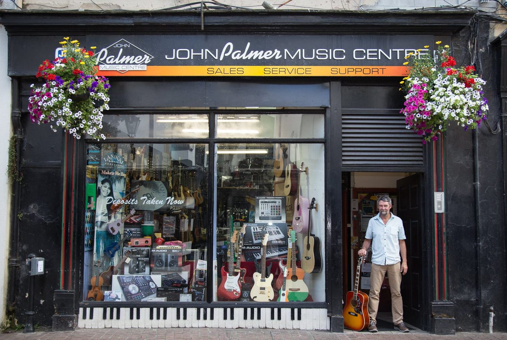 Win €250 off any instrument in John Palmer Music Centre