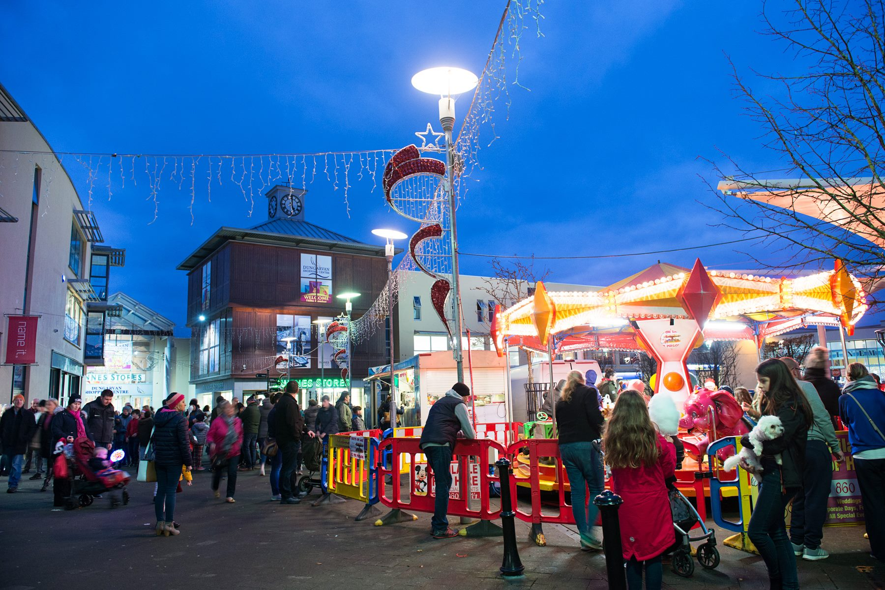 Dungarvan Shopping Centre is turning on its Christmas lights this Sunday
