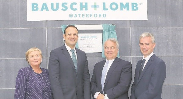 Major expansion announced at Bausch and Lomb in Waterford