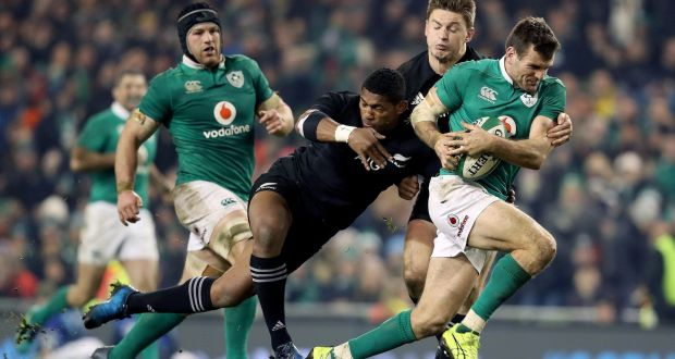 Bruising encounter anticipated at the Aviva this evening as All Blacks roll into town